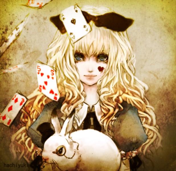 Арты на тему: 'Alice in Wonderland' 1064732b4d52
