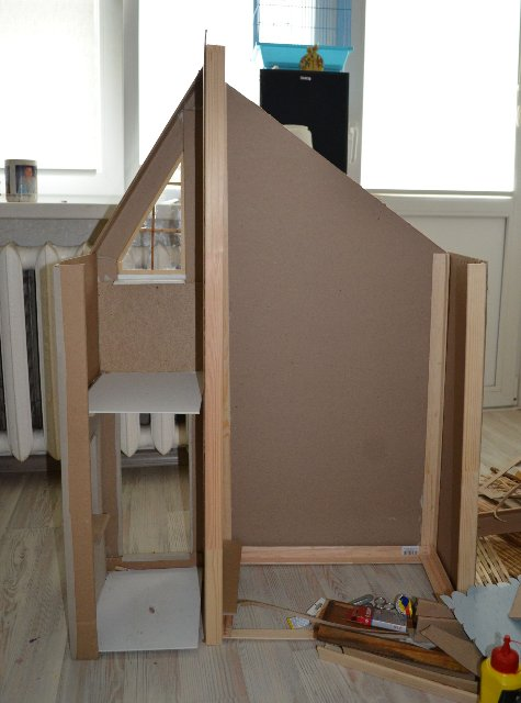 Vienas mājiņas veidošana / Построение одного домика - Semli B26245362044