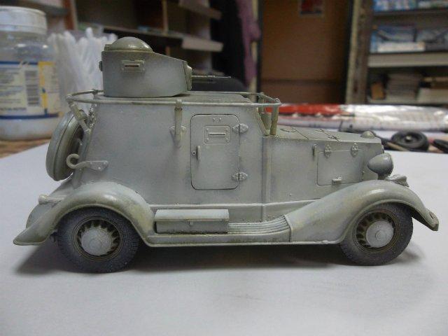 Бронеавтомобиль БА-20 Ж/Д, 1/35, (Старт). 1f8917125391