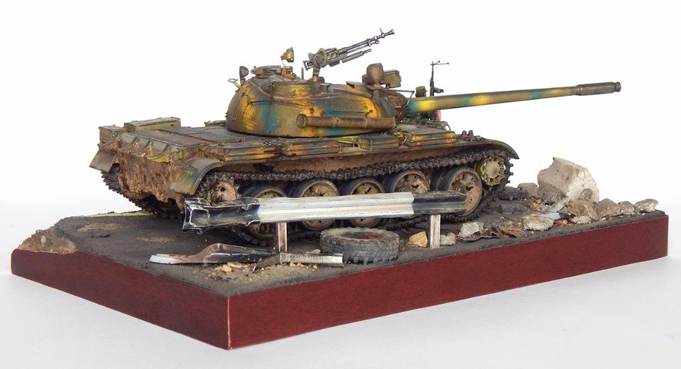 Сирийский Т-55А 37e88972a061