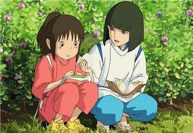 Унесенные призраками / Spirited Away / Sen to Chihiro no kamikakushi (2001 г. полнометражный) - Страница 2 Ca401e8b62e9