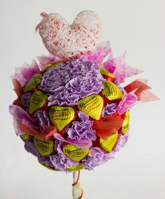 Букеты из конфет - Страница 2 726b58782ddf
