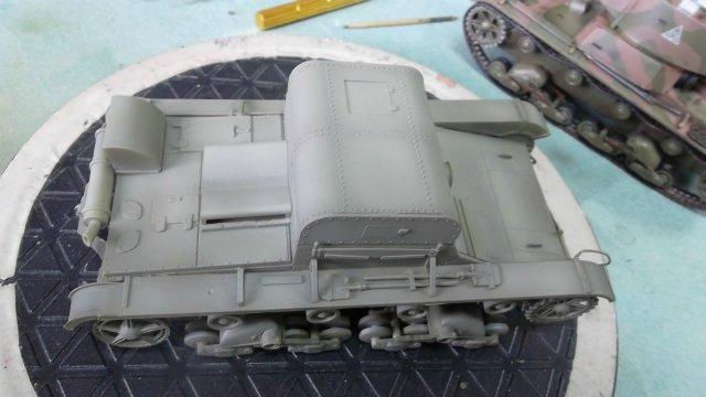 Т-26Т артиллерийский тягач, 1/35, (RPM 35072). 55d6f7fd2916