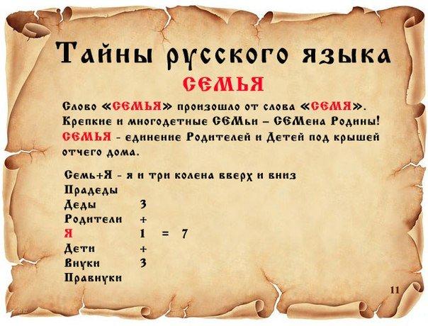 ТАЙНЫ РУССКОГО ЯЗЫКА. F694a0470cad