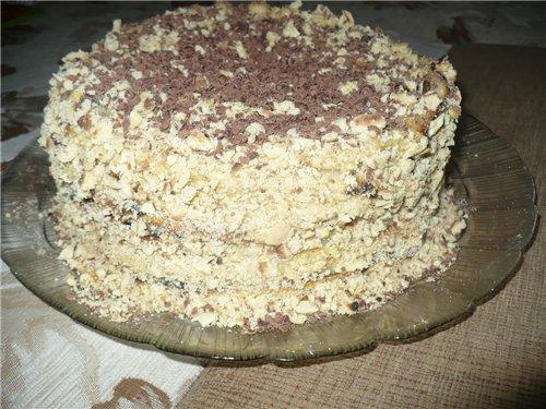 Торт на сковороде 6176863e4111