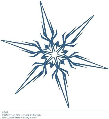 Зимнее рукоделие - вырезаем снежинки! - Страница 9 Aca0ab65b608