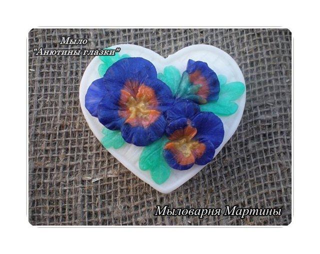 Цветочное  мыло 31175e0f3148