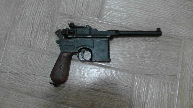 Пистолет Mauser C-96 (ММГ) 74e486b70b6b