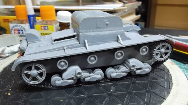 Т-26Т артиллерийский тягач, 1/35, (RPM 35072). 96741de450bb
