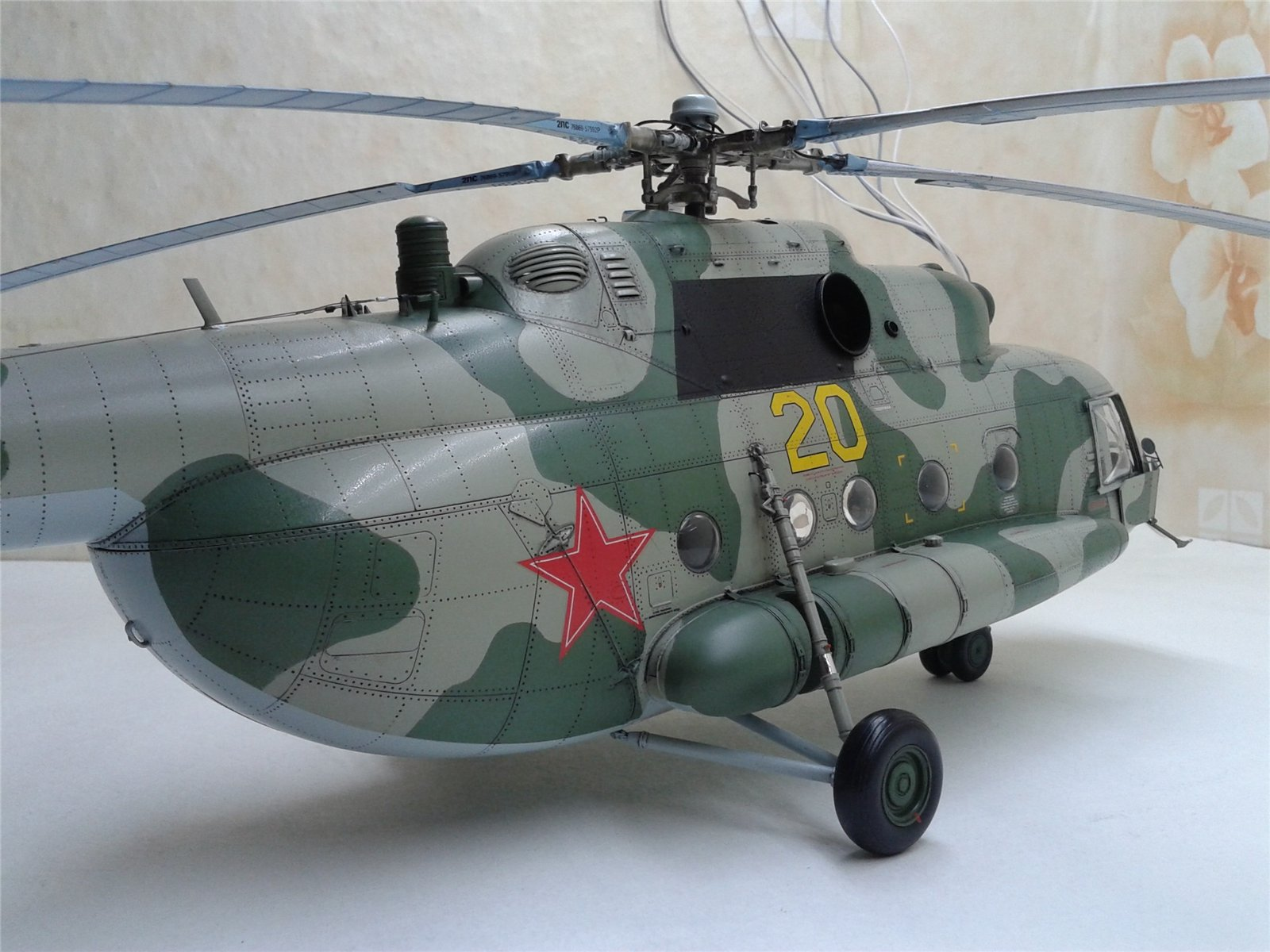 Ми-8МТ 1/35 (TRUMPETER) 0a3b78006e57