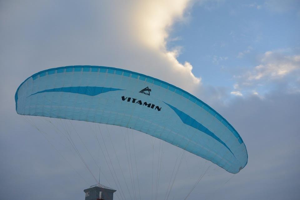 Параплан универсальный для начинающих пилотов VITAMIN  B7db2b94b338