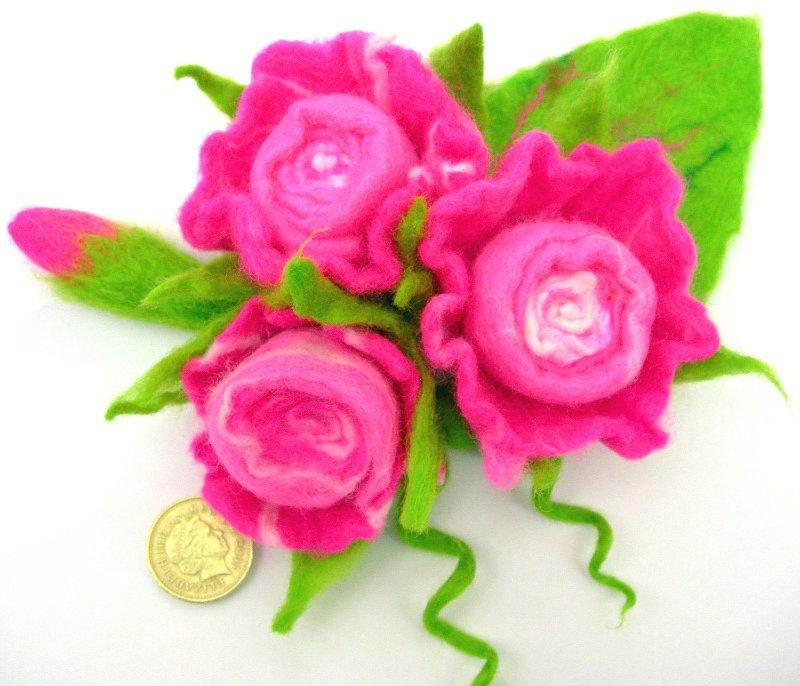 Цветы из фетра D873892a0b35