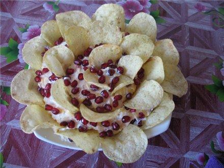 "Салат ""Гранатовый цветок"" 6d93bb9cb15f"
