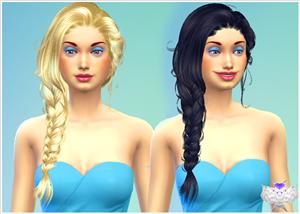 Женские прически (длинные волосы) 600f835f7495
