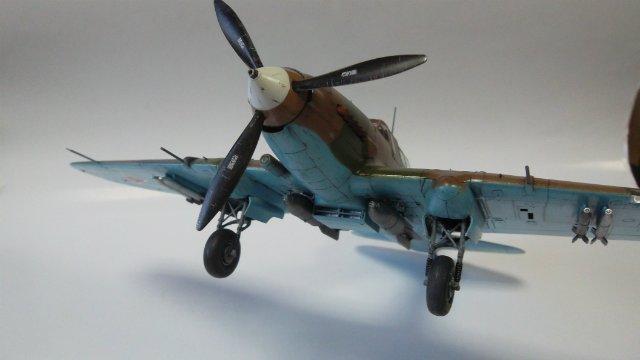 Ил-2, масштаб 1/48, (Tamiya 61113). C7f78b172330