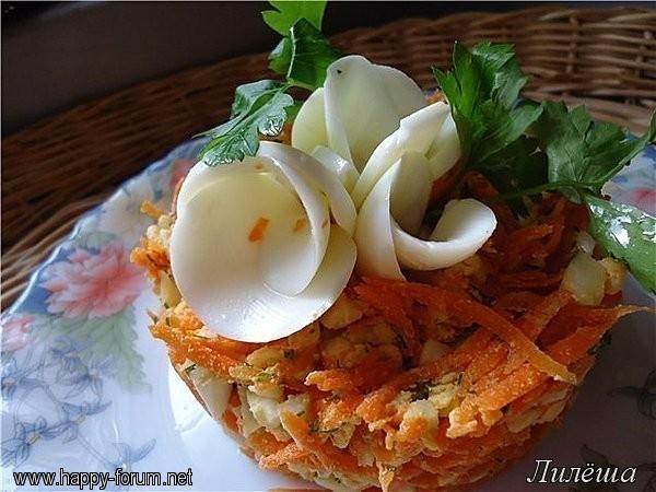"""Салат """"Морковка"""" с яйцом и сыром D106517c8b81"""