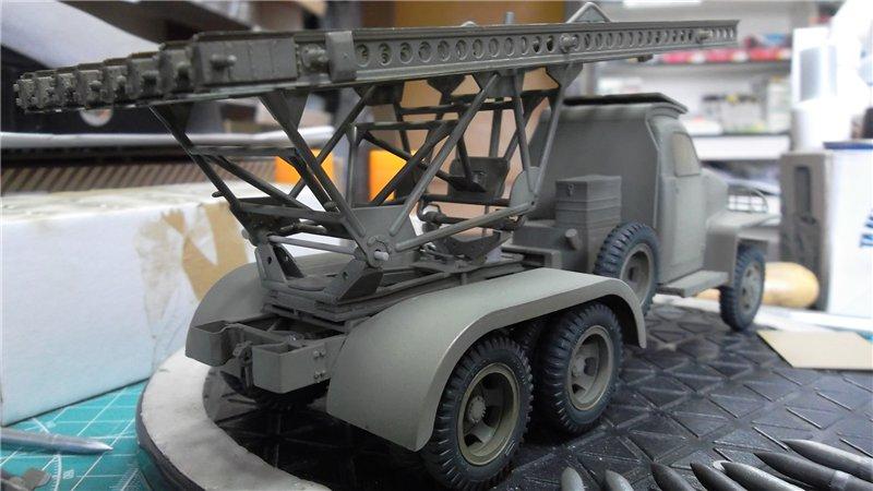 Катюша БМ-13-16Н на Студебекере, 1/35, (Моделист 303548). 24d5306b8ec8