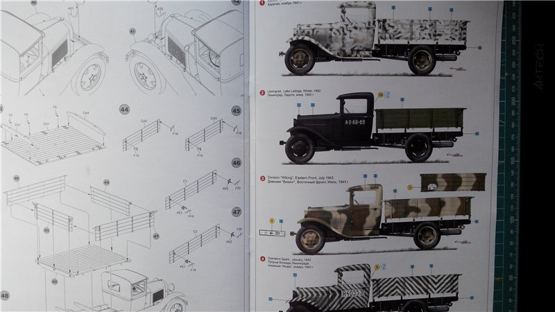 GAZ - AA Cargo truck MiniArt 1:35  8eebd065ea9e