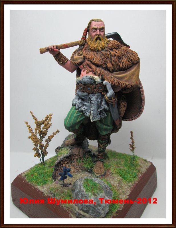 Германский воин, 2 в. н.э., 75мм. Fea29cae1613