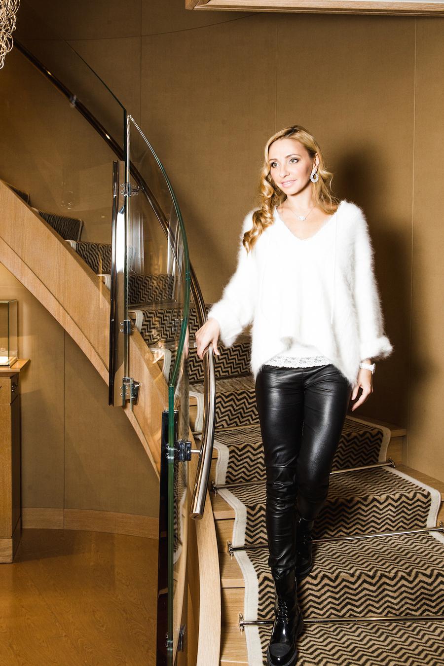Татьяна Навка - официальный посол бренда Chopard A8e03429ef3a