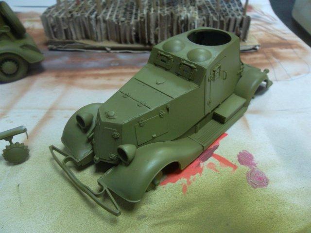 Бронеавтомобиль ФАИ-М, 1/35, (MSD 3562). B5b9339d3040