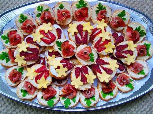 Праздничные бутерброды 1ef774e341f4