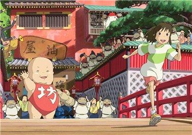Унесенные призраками / Spirited Away / Sen to Chihiro no kamikakushi (2001 г. полнометражный) - Страница 2 3f7dcc7412a9