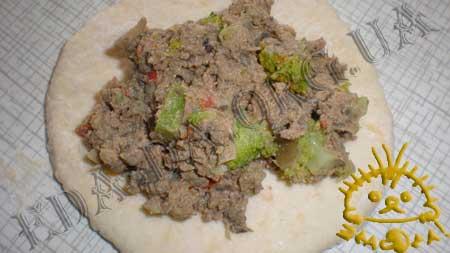 Пирожки с куриной печенью,грибами и брокколи...... ммммммм  вкууууусно!!! E08df10a839e