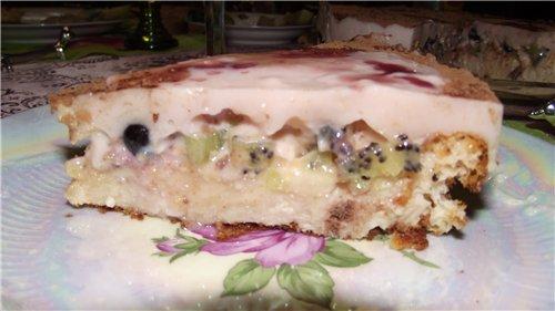 Творожно-йогуртовый торт 1806eb195e72
