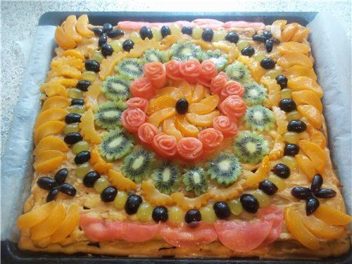 """Торт """"Тропиканка"""" 8fe0fa3517d9"""