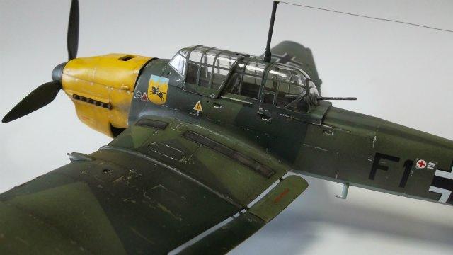 Ju-87 B-2 «Stuka», 1/48, (Tamiya 37008). 97f93ef64b36