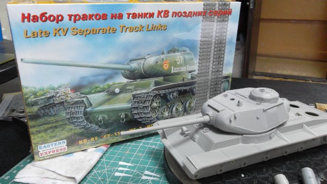 КВ-85, 1/35, (Восточный Экспресс 35102). Ee035786590d