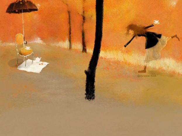 Корейская художница Christian Asuh 3d85c066c974