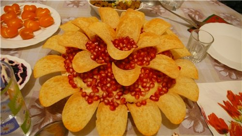 "Салат ""Гранатовый цветок"" B653a25bcbab"
