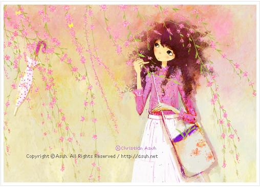 Корейская художница Christian Asuh A29861f24d79