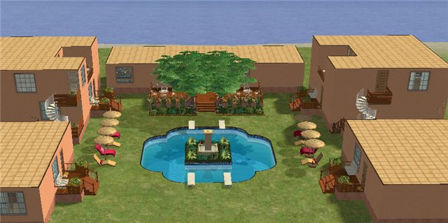 Двор и бассейн 8ff3c07574ee