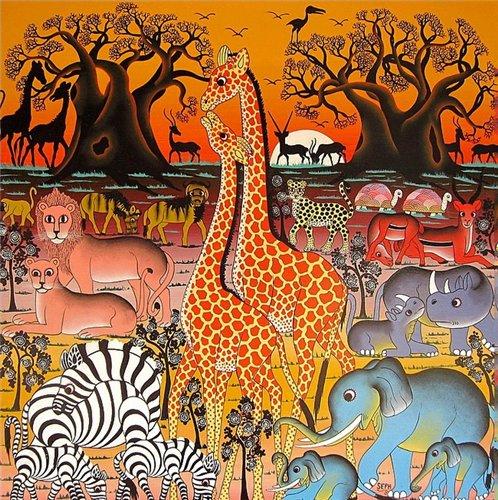 Цветотерапия в живописи... Bae7a32e7470