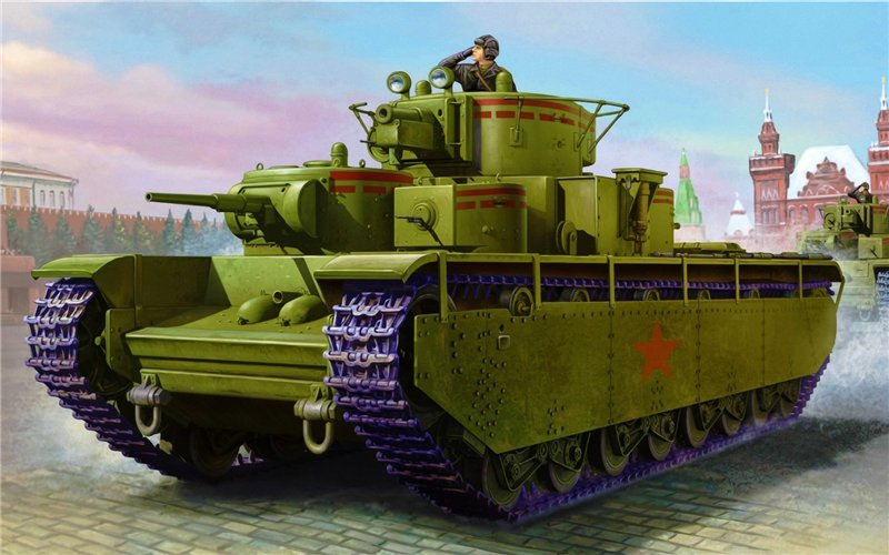 Soviet T-35 Heavy Tank Hobby/Boss 1/35 5fe6c3d9ec77