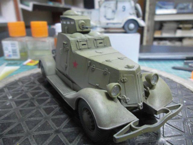 Бронеавтомобиль ФАИ-М, 1/35, (MSD 3562). 9419ee5b128e