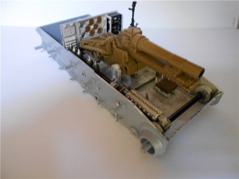 Немецкое 150-мм самоходное орудие Штурмпанцер II 1/35 (Арк модел) 383ce50ef602
