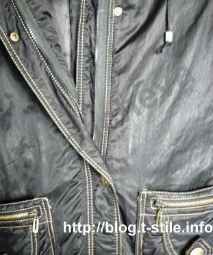 Как заменить молнию на куртке, не распарывая отделочных строчек! 893ae70a9193