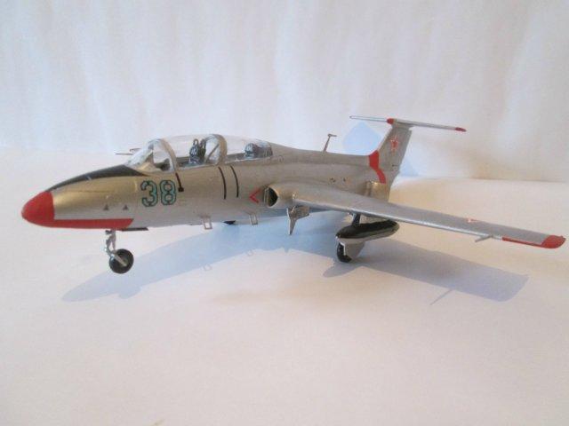 "Л-29 ""Дельфин""  АМК 1/48 2c2a7e97dd33"