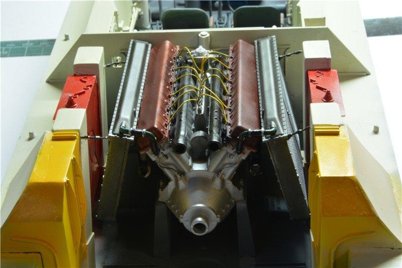 Т-34/85 model 1944г. Factory №. 174 маштаб 1/16 Trumpeter 41b6e618ff9a