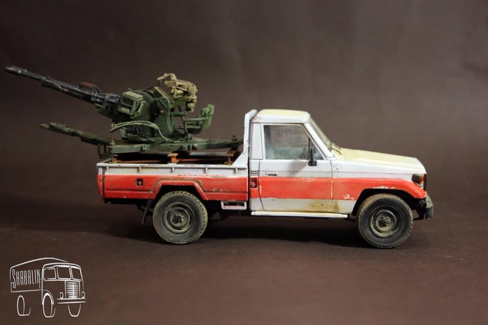 PickUP w/ZU-23-2 от Meng, масштаб 1/35 C05e35cce182
