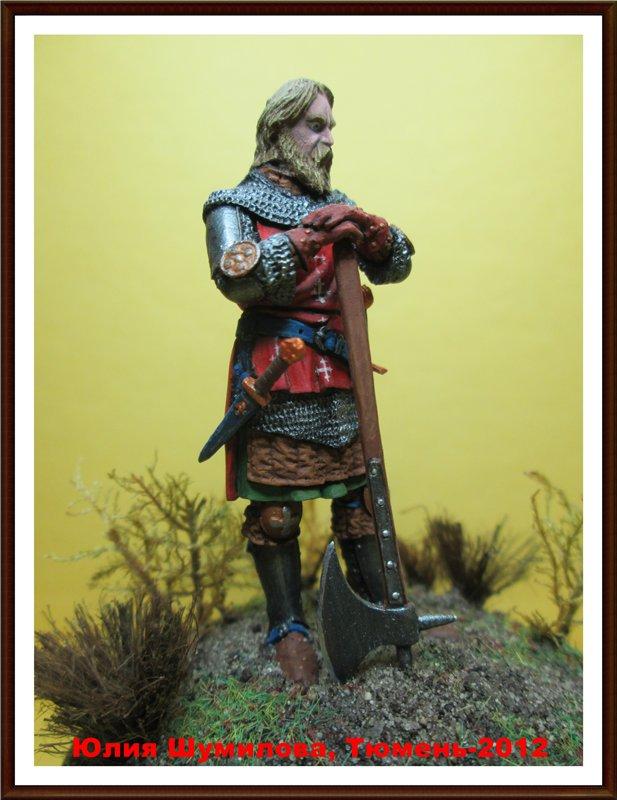 Рыцарь с боевым топором, 14 в.  527f5bdafa56
