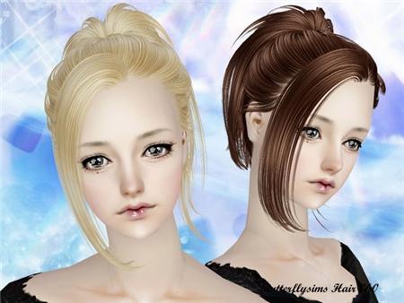 Прически для The Sims 2 .Женские 0b6057e6250a
