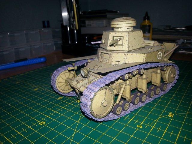 Т-18 (МС-1) Бумажное моделирование №45 E23a00a77b8b