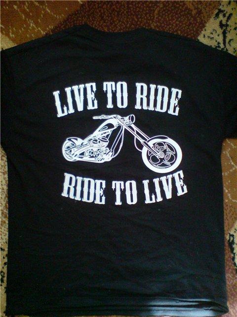 футболки с Мото логотипами и не только F01a06999927