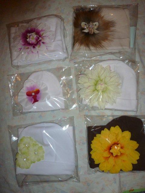 Хвастаемся Авторскими шапочками с красивущими цветочками! E4946a7696e3