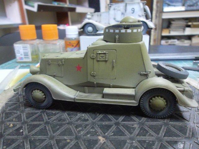 Бронеавтомобиль ФАИ-М, 1/35, (MSD 3562). 1792897026bd